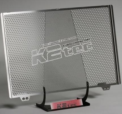 MT-09 ラジエターコアガード ステンレス製ヘアライン仕上げ K2-tec(ケイツーテック)