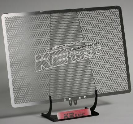 Ninja1000(ニンジャ) ラジエターコアガード ステンレス製ヘアライン仕上げ K2-tec(ケイツーテック)