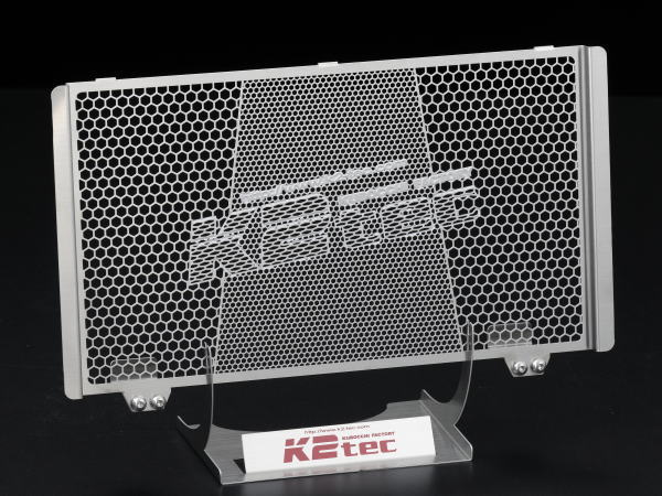 YZF-R3(EBL-RH07J) ラジエターコアガード ステンレスヘアライン仕上げ K2-tec(ケイツーテック)