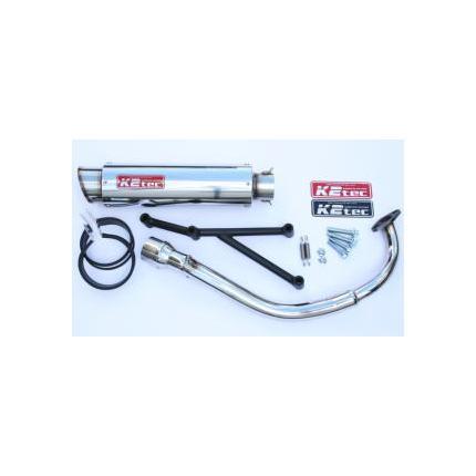 GP-Rスタンダードマフラー M1タイプ K2-tec(ケイツーテック) アドレスV125/S(09年~)(O2センサー対応)