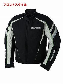 カワサキGWSリアルスポーツショートジャケット秋冬 LLサイズ KAWASAKI(カワサキ)