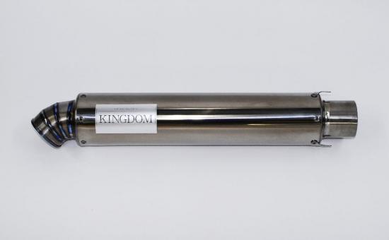 ゼファー1100(ZEPHYR) KINGDOMチタンサイレンサー R-03 400mm(ミラーフィニッシュ) KINGDOM(キングダム)