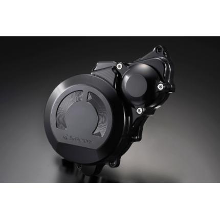 クランクエンドカバーL スーパーブラック CB1300SF(~02年)、(03~11年) K-FACTORY(ケイファクトリー)
