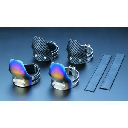 フロントフォークガード(Mサイズ) チタン製 ZEPHYR1100 K-FACTORY(ケイファクトリー)