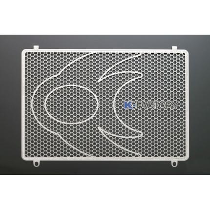 ラジエターコアガード ステンレス Bタイプ ZRX1100 K-FACTORY(ケイファクトリー)