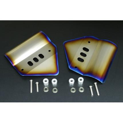 チタンフロントフォークカバー Z1000(03~06年) K-FACTORY(ケイファクトリー)