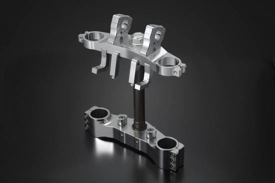 ZRX1200 DAEG(ダエグ) トリプルツリー メタリックシルバー K-FACTORY(ケイファクトリー)
