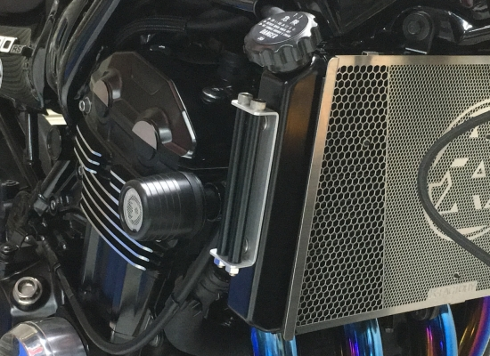 ラジエターサイドカバー スーパーブラック K-FACTORY(ケイファクトリー) Z900RS (18年)