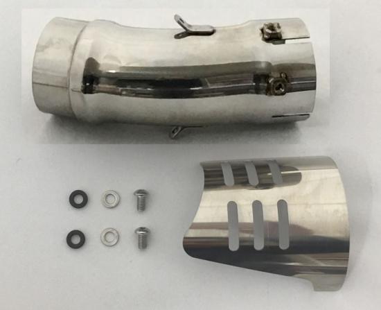 スリップオン:ジョイントパイプ付属品セット(車検非対応) K-FACTORY(ケイファクトリー) Z900RS (18年)
