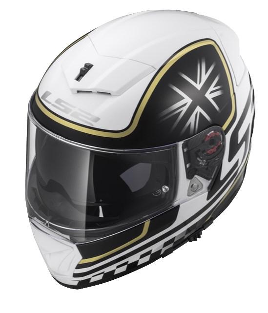 BREAKER ブレーカー ヘルメット ホワイト/ブラック Lサイズ LS2(エルエス2)