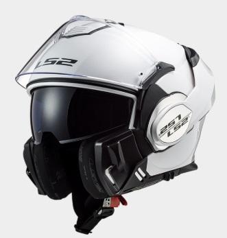 VALIANT(バリアント)システムヘルメット ホワイト Mサイズ LS2(エルエス2)