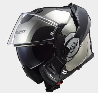 VALIANT(バリアント)システムヘルメット クローム Mサイズ LS2(エルエス2)