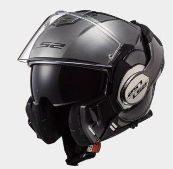 VALIANT(バリアント)システムヘルメット チタニウム Sサイズ LS2(エルエス2)