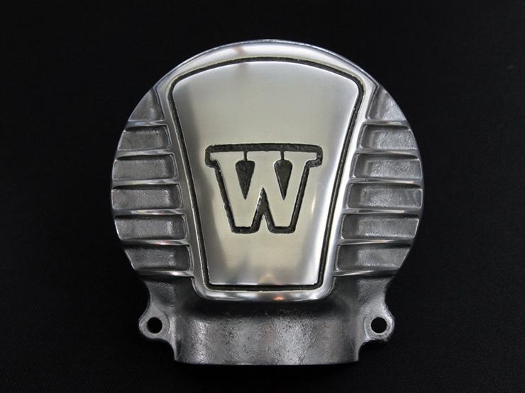 送料無料 W650 べベルギアカバーW with モーターロック フィン いよいよ人気ブランド MOTORROCK 激安