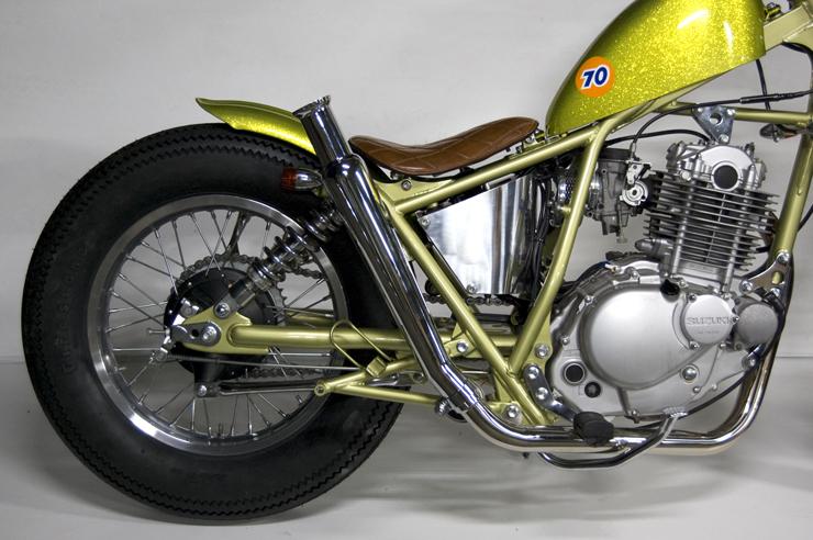 グラストラッカー・ビッグボーイ(04年~) トランペットマフラー/アップフルエキゾースト アップ MOTORROCK(モーターロック)