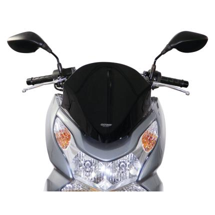 PCX150(09~13年) スクリーン スポーツタイプ ブラック MRA