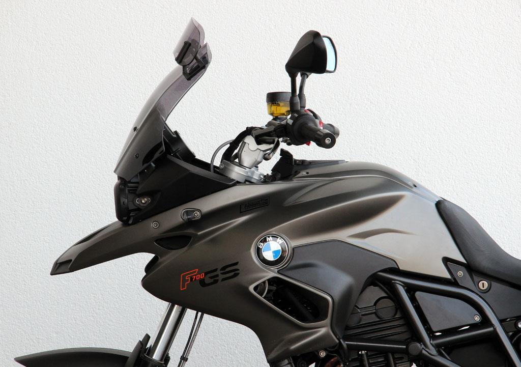 BMW F700GS VARIOヴァリオツーリング スクリーン スモーク(フラップ付) MRA
