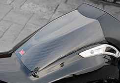 V-MAX(09年~) タンデムシートカバー 綾織りカーボン製 MAGICAL RACING(マジカルレーシング)