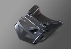 V-MAX(09年~) フェンダーレスキット(ライセンスプレート灯キット付)純正ウインカー用 綾織りカーボン製 MAGICAL RACING(マジカルレーシング)