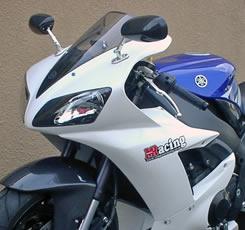 YZF-R1(02~03年) 2P アッパーカウル FRP製・白 MAGICAL RACING(マジカルレーシング)