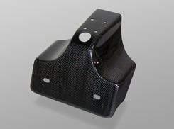 YZF-R1(07~08年) フェンダーレスキット(ライセンスプレート灯KIT付)純正ウインカー用/FRP製・黒 MAGICAL RACING(マジカルレーシング)