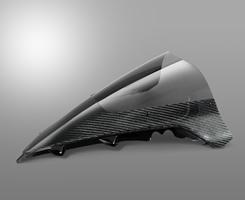 YZF-R1(09年~) カーボントリムスクリーン 綾織りカーボン製/スモーク MAGICAL RACING(マジカルレーシング)
