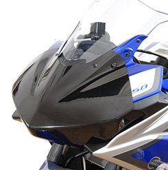 YZF-R25(15年) ゼッケンプレート 平織りカーボン製 MAGICAL RACING(マジカルレーシング)