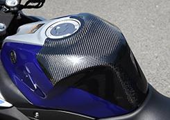 YZF-R25(15年) タンクエンド(中空モノコック構造)綾織りカーボン製 MAGICAL RACING(マジカルレーシング)