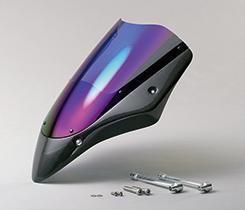 Z1000(03~06年) バイザースクリーン 平織りカーボン製・スモーク MAGICAL RACING(マジカルレーシング)