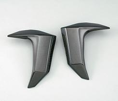 Z1000(03~06年) ラジエターシュラウド(左右セット)平織りカーボン製 MAGICAL RACING(マジカルレーシング)