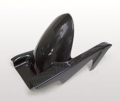 Z1000(07~09年) リアフェンダー 平織りカーボン製 MAGICAL RACING(マジカルレーシング)