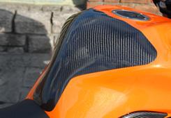Z1000(07~09年) タンクエンド 綾織りカーボン製 MAGICAL RACING(マジカルレーシング)