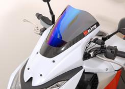 Z1000(10~13年) バイザースクリーン・一部カーボン仕様 FRP製・黒/平織りカーボン製/クリア MAGICAL RACING(マジカルレーシング)
