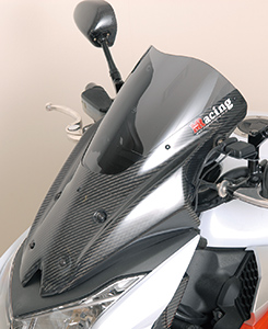 Z1000(10~13年) バイザースクリーン・フルカーボン仕様 平織りカーボン製/スモーク MAGICAL RACING(マジカルレーシング)