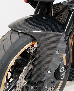 Z1000(10~13年) フロントフェンダー 綾織りカーボン製 MAGICAL RACING(マジカルレーシング)