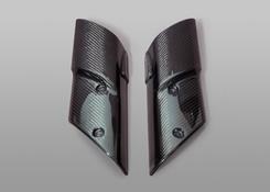 Z1000(10~13年) フォークガード 綾織りカーボン製 MAGICAL RACING(マジカルレーシング)