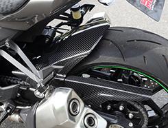Z1000(10年~) リアフェンダー 平織りカーボン製 MAGICAL RACING(マジカルレーシング)