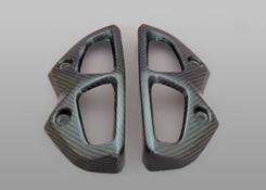 Z1000(10~13年) サイレンサーカバー(左右セット)綾織りカーボン製 MAGICAL RACING(マジカルレーシング)