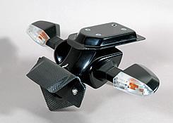 Z1000(10~13年) フェンダーレスキット マジカル製ウインカー用 FRP製 黒/綾織りカーボン製 MAGICAL RACING(マジカルレーシング)