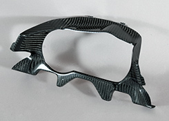 ZRX1200 DAEG(ダエグ)09年~ カウルインナーパネル(純正アッパーカウル用)FRP製・黒 MAGICAL RACING(マジカルレーシング)