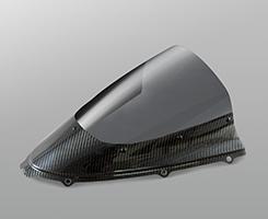 ZX-14R(12年~) カーボントリムスクリーン 綾織りカーボン製・スモーク MAGICAL RACING(マジカルレーシング)