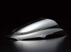 ZX-9R(00~03年) カーボントリムスクリーン 綾織りカーボン製/クリア MAGICAL RACING(マジカルレーシング)