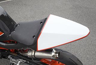 シートカウル/FRP製・黒 MAGICAL RACING(マジカルレーシング) KTM RC390(14~16年)