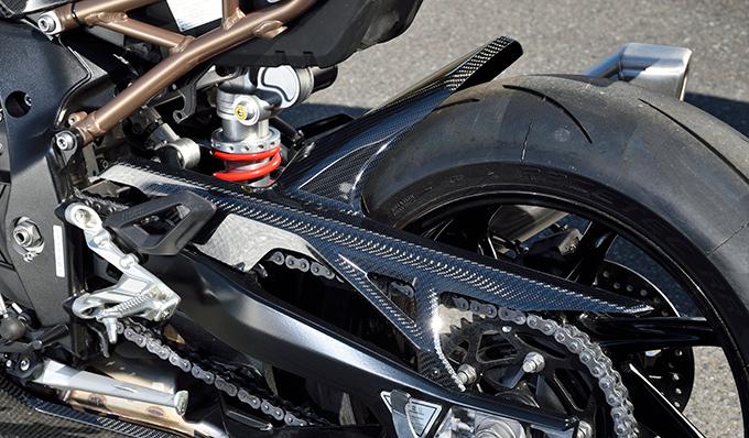 リアフェンダー/綾織りカーボン製 MAGICAL RACING(マジカルレーシング) BMW S1000RR(19年)
