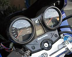 CB1300SF(03~07年) カーボン製メーターカバー 綾織りカーボン製 MAGICAL RACING(マジカルレーシング)