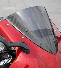 CBR1000RR(08年) カーボントリムスクリーン 平織りカーボン製/スモーク MAGICAL RACING(マジカルレーシング)