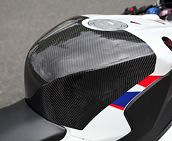 CBR1000RR(12年~) タンクエンド(中空モノコック構造)FRP製・白 MAGICAL RACING(マジカルレーシング)
