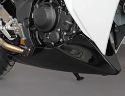 CBR250(11~13年) アンダーカウル(外品マフラー仕様・ボルト固定)平織りカーボン製 MAGICAL RACING(マジカルレーシング)