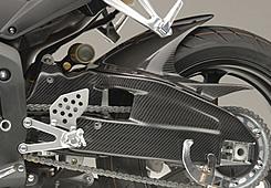 CBR600RR(05~06年) スイングアームカバー FRP製・黒 MAGICAL RACING(マジカルレーシング)