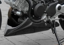 VTR250(03年~) アンダーカウル FRP製・黒 MAGICAL RACING(マジカルレーシング)